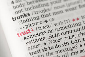 When We Talk About Trust, What Do We Really Mean