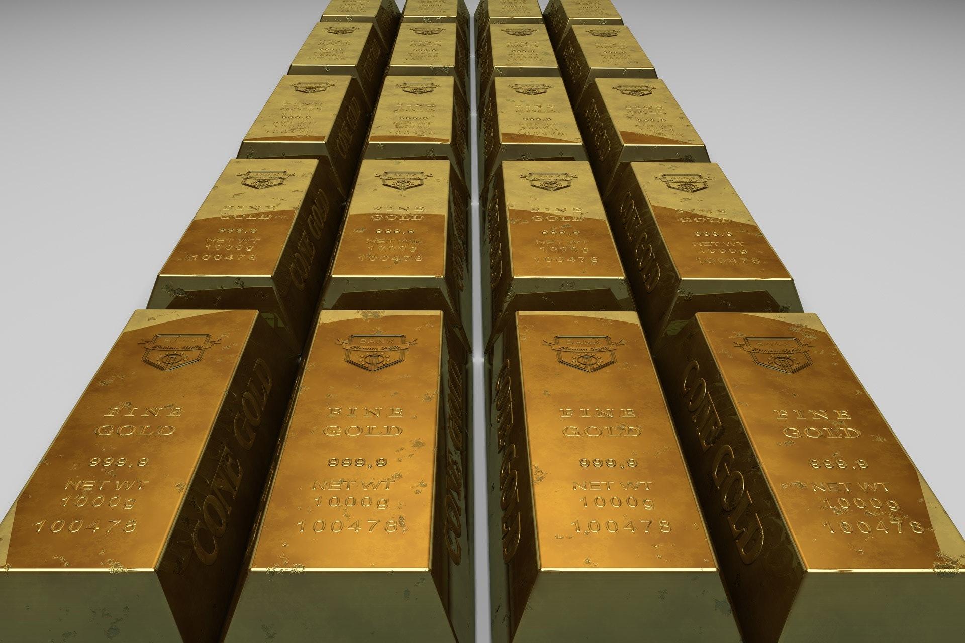 gold-gold-bars-gold-bullion-68149